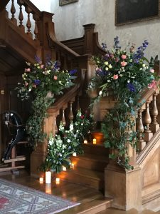 Staircase wedding