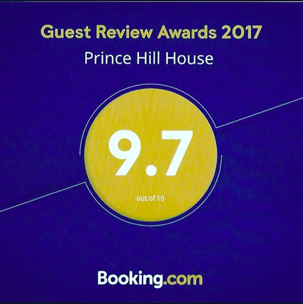 An amazing 9.7 rating from our guests